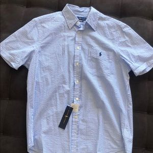 Ralph Lauren Button Down Short Sleeve Shirt